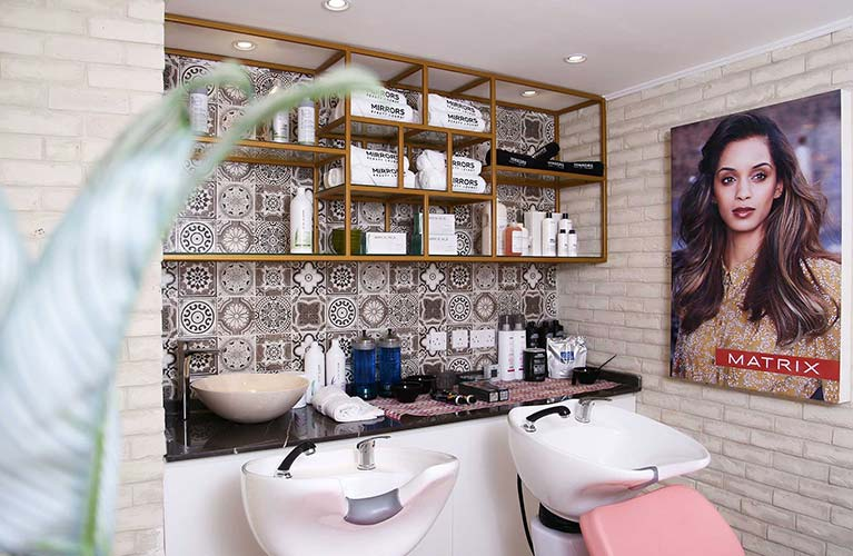 best ladies hair color salon in dubai