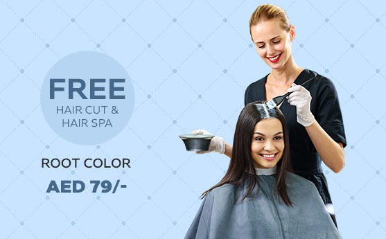 root color and blow dry offers