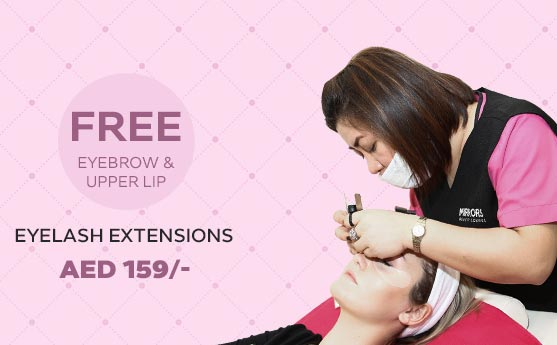 eyelash extensions offers